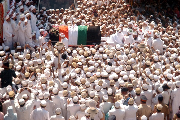 Funeral procession of Dr Syedna Mohammed Burhanuddin