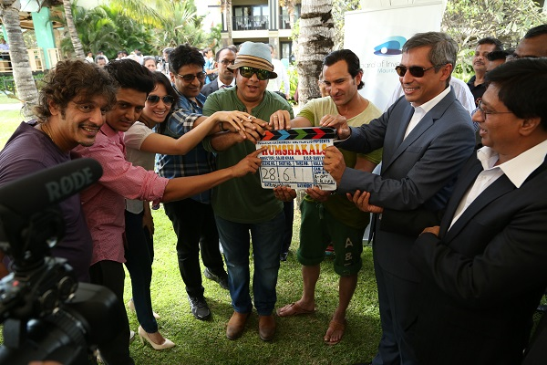 Humshakals team with the Vice Prime Minister of Mauritius