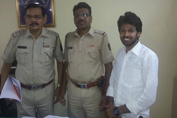 Suresh Gupta with Ramdas gaikwad (first from left) and Suresh sakpal(middle)