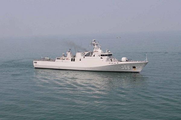Indonesian Naval Ship KRI Frans Kaisiepo